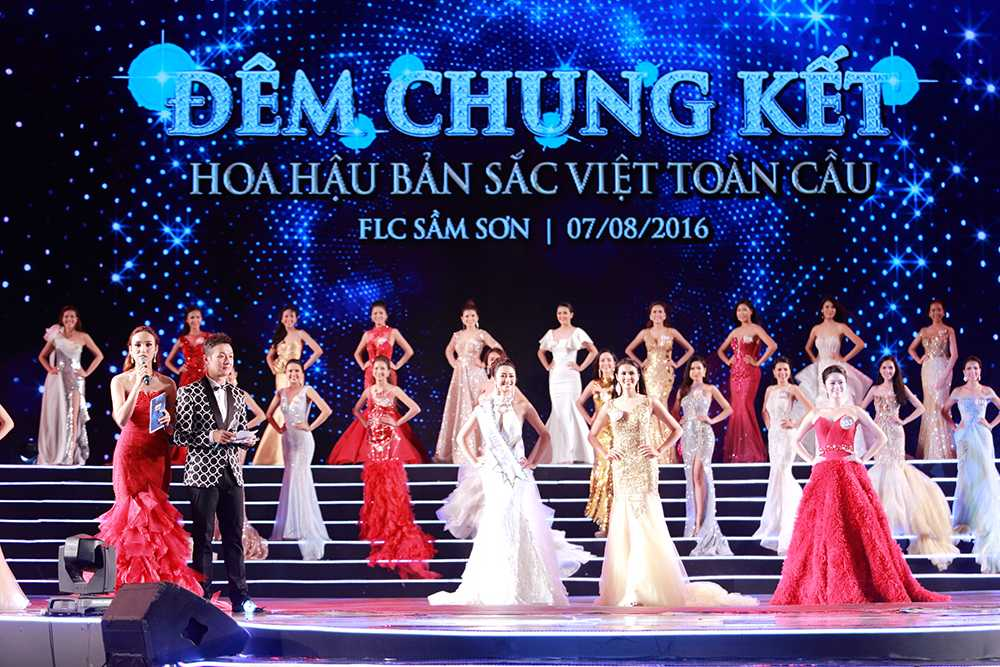 Nguoi dep Tran Thi Thu Ngan dang quang Hoa hau ban sac Viet toan cau 2016 hinh anh 12