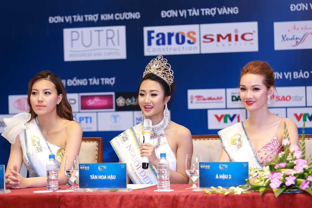 Nguoi dep Tran Thi Thu Ngan dang quang Hoa hau ban sac Viet toan cau 2016 hinh anh 19