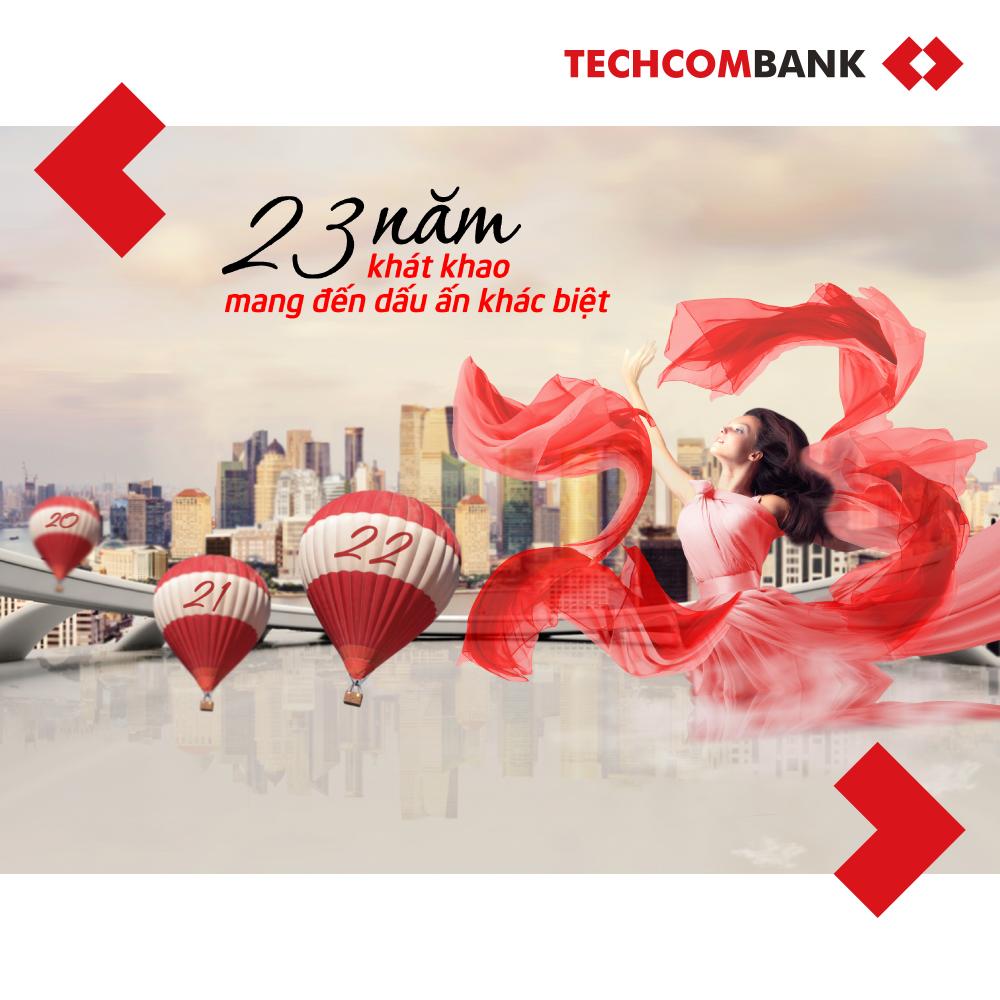 Techcombank - '23 nam khat khao mang den dau an khac biet' hinh anh 1