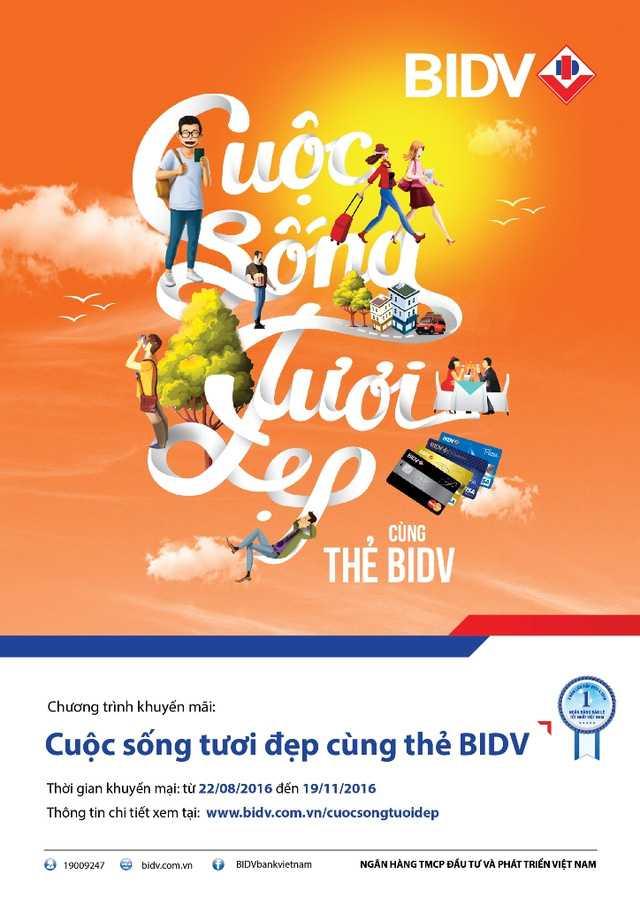 Cuoc song tuoi dep cung the BIDV hinh anh 1