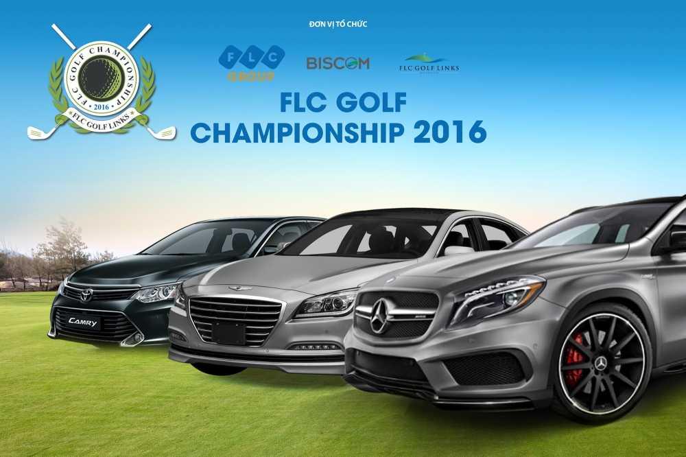 16 xe sang cho don golfer tai FLC Golf Championship 2016 hinh anh 1