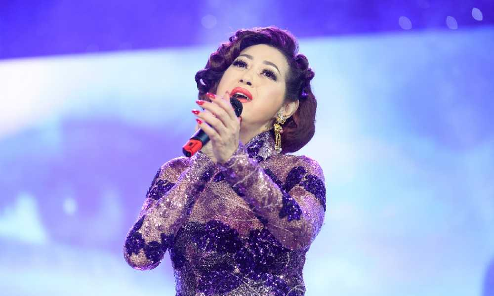 Danh ca Ngoc Son, Huong Lan hoi ngo tai 'Sa mac tinh yeu' hinh anh 5