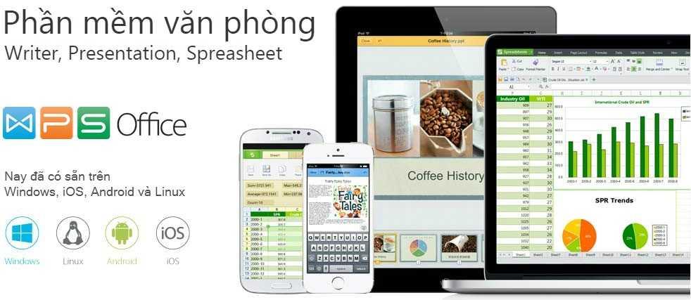 Phan mem WPS Office 2016 chinh thuc co mat tai Viet Nam hinh anh 1