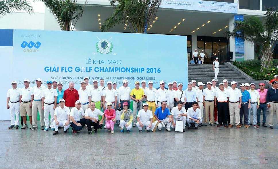 Giai golf FLC Golf Championship 2016 chinh thuc khoi tranh hinh anh 3