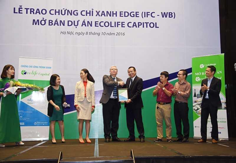 EcoLife Capitol: Tang SH nhan dip nhan chung chi xanh hinh anh 2