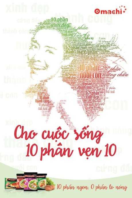 Mi goi khoai tay Omachi nhan hang truyen cam hung cho cuoc song '10 phan ven 10' hinh anh 1