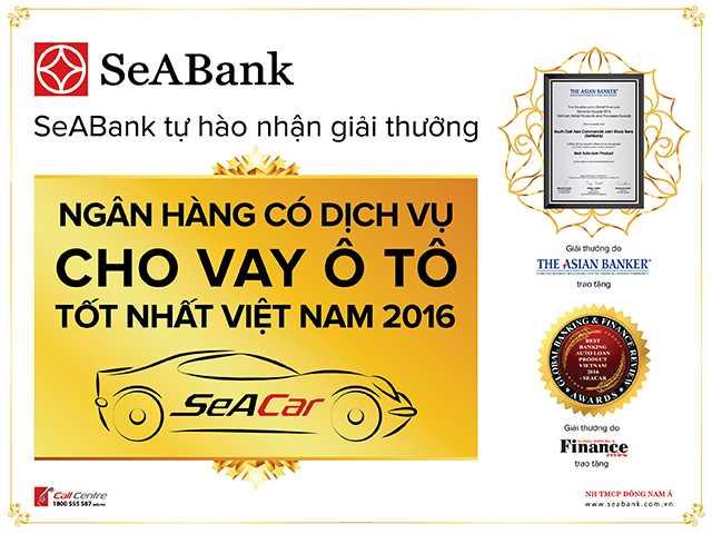 SeABank tham gia trien lam o to quoc te Viet Nam 2016 hinh anh 1