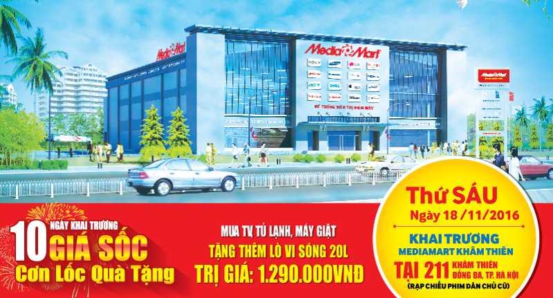 MediaMart khai truong sieu thi dien may thu 29 tai Ha Noi hinh anh 1