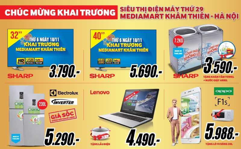 MediaMart khai truong sieu thi dien may thu 29 tai Ha Noi hinh anh 3
