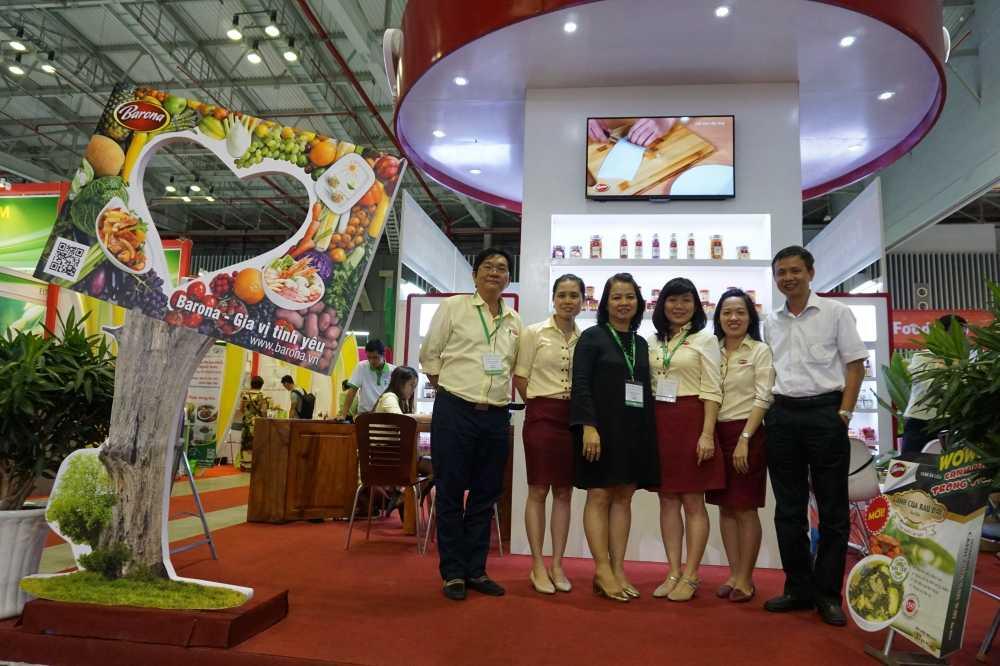 Nam Phuong Food tham gia trien lam quoc te cong nghiep thuc pham Viet Nam 2016 hinh anh 2
