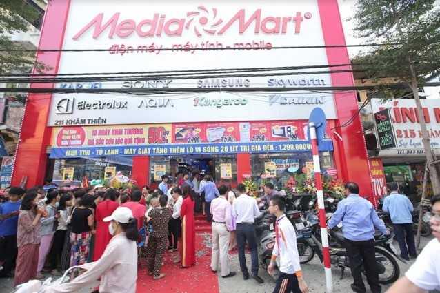 Dien may MediaMart lien tiep khai truong mo rong chuoi sieu thi hinh anh 9