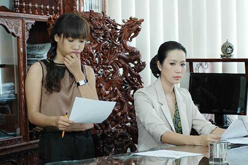 A hau Trinh Kim Chi 'doi dau' Le Be La hinh anh 3
