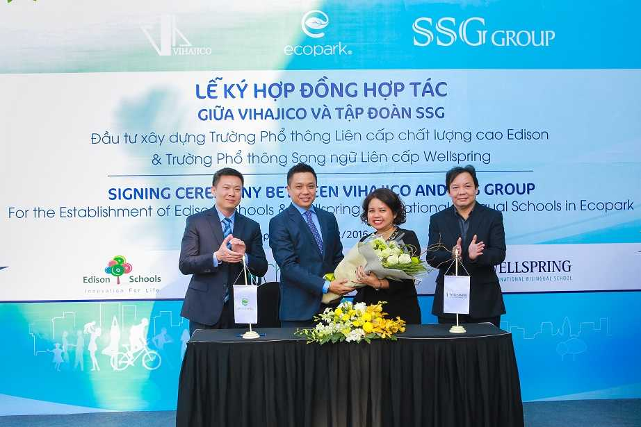 Ecopark sap co them 2 truong lien cap song ngu 500 ty dong hinh anh 3