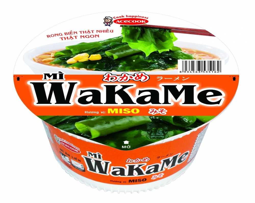 Acecook Viet Nam ra mat san pham mi to an lien Wakame hinh anh 1