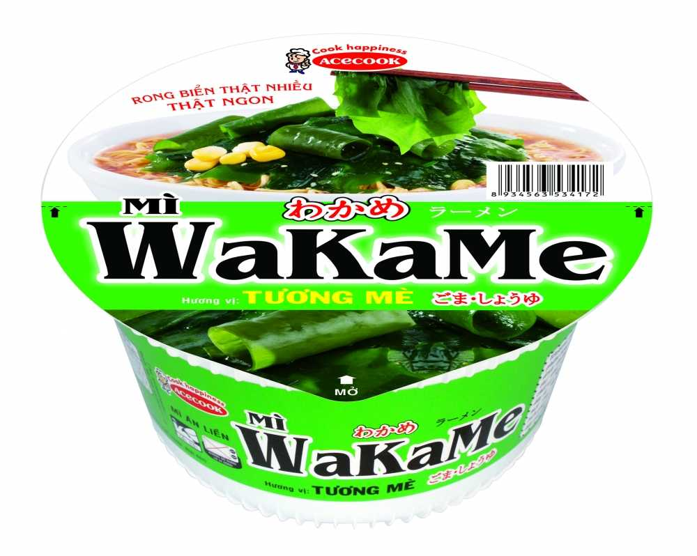 Acecook Viet Nam ra mat san pham mi to an lien Wakame hinh anh 2
