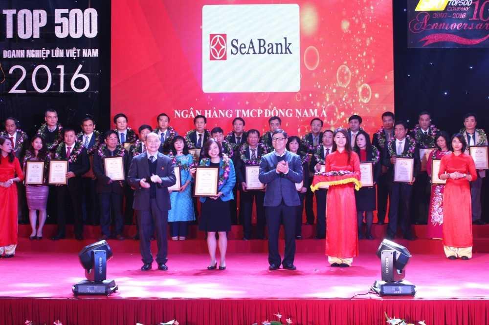 SeAbank duoc xep hang trong 'Top 500 Doanh nghiep lon Viet Nam - VNR500' hinh anh 1