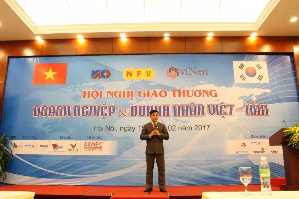 Hoi nghi Giao thuong Viet - Han lan thu nhat hinh anh 2