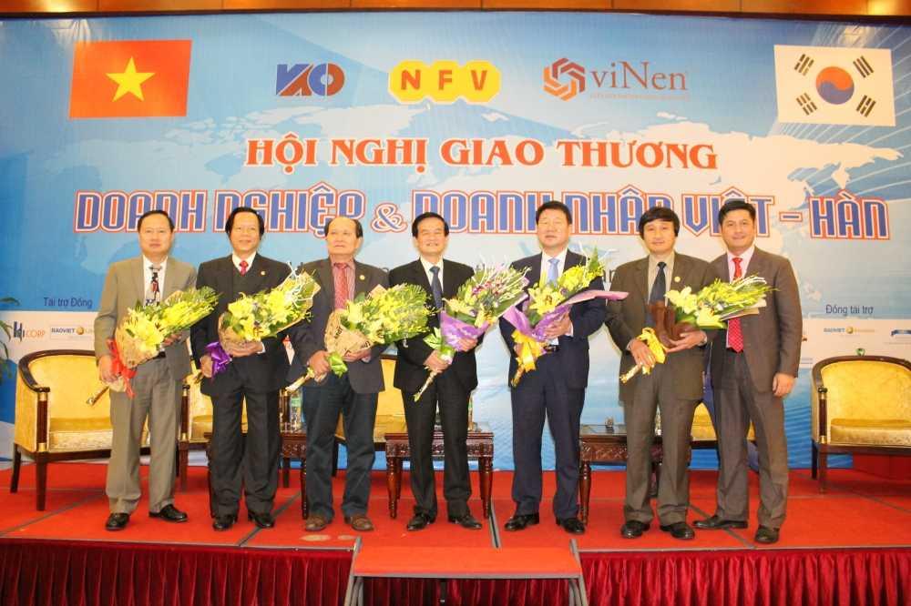 Hoi nghi Giao thuong Viet - Han lan thu nhat hinh anh 4