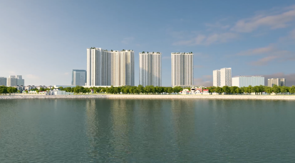 Vi sao du an Gelexia Riverside se thay doi dien mao quan Hoang Mai, Ha Noi? hinh anh 1