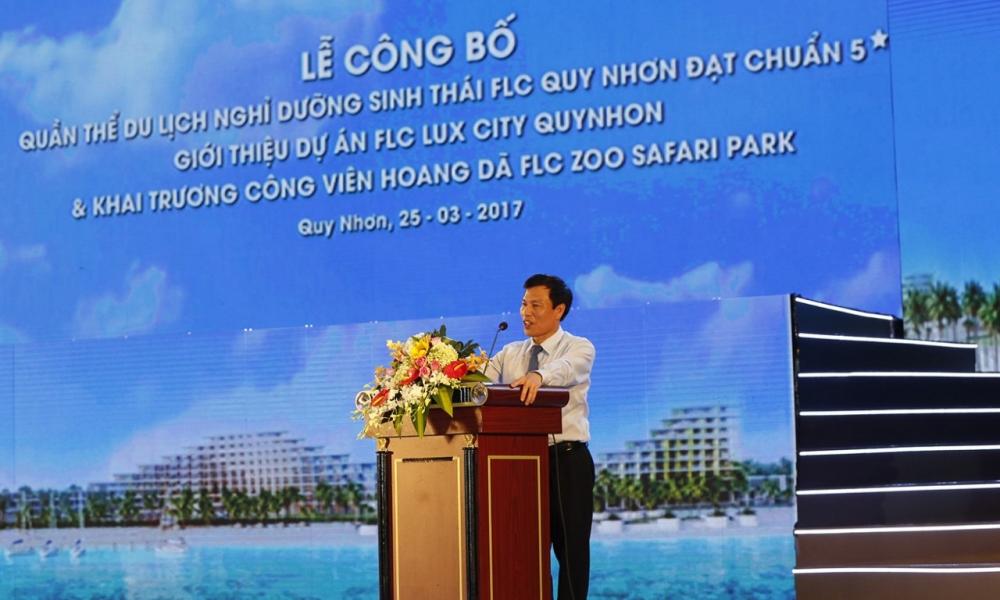 Bo truong Nguyen Ngoc Thien: FLC Quy Nhon da thay doi dien mao du lich Binh Dinh hinh anh 1