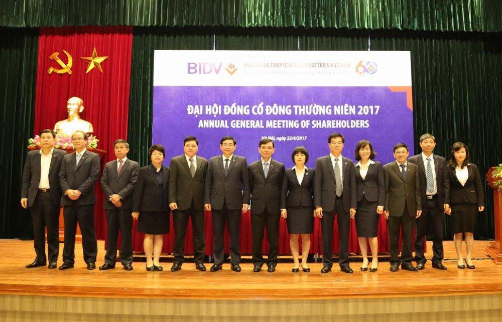 BIDV to chuc Dai hoi dong co dong thuong nien nam 2017 hinh anh 1