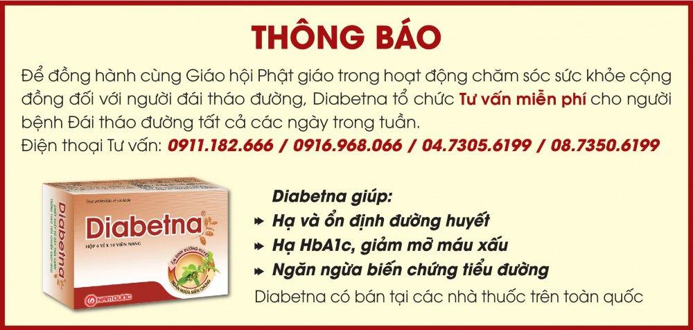 Diabetna dong hanh cung giao hoi phat giao nang cao nhan thuc cho benh nhan tieu duong hinh anh 4