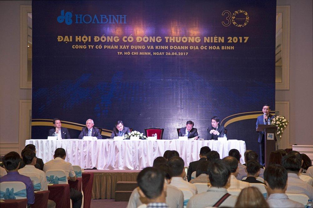 HBC: Nam 2017 ke hoach doanh thu 16000 ty dong va LNST 828 ty dong hinh anh 1