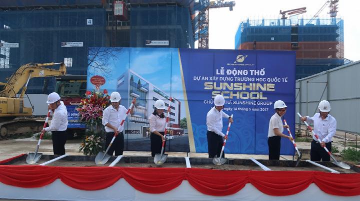 Sunshine Group: Khoi cong Sunshine School va cau chuyen huong den cong dong hinh anh 1