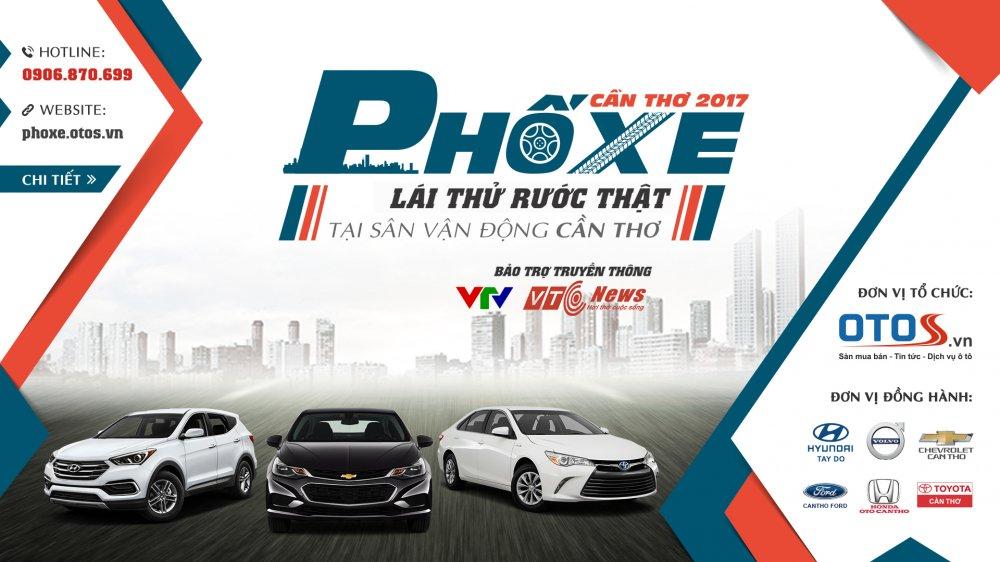 Pho xe 2017 - Hoi cho xe lon nhat mien Tay sap sua khai man hinh anh 1