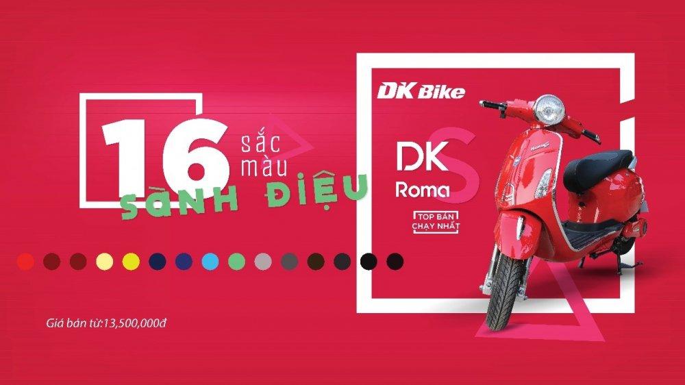 DKBike gioi thieu RomaS 2017, ban nang cap toan dien tu mau xe ban chay nhat hinh anh 3