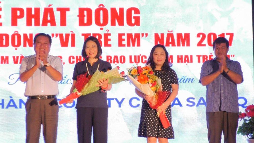 Cong ty Co Phan Ma San PQ dong hanh cung chuong trinh an sinh xa hoi Huyen Phu Quoc hinh anh 1