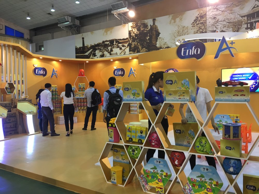 Mead Johnson Nutrition huong ung Ngay Sua the gioi tai Trien lam Quoc te nganh Sua hinh anh 1