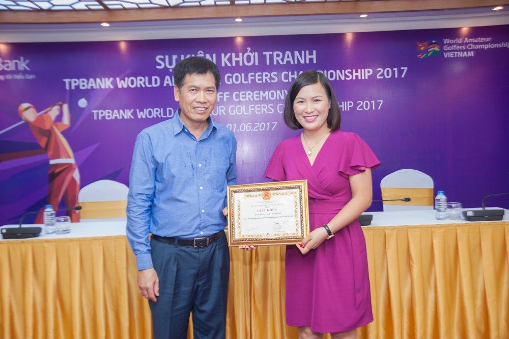 Chinh thuc khoi dong Giai TPBank World Amateur Golfers Championship 2017 hinh anh 1
