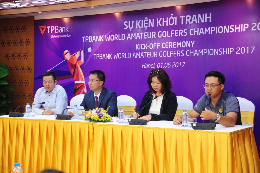 Chinh thuc khoi dong Giai TPBank World Amateur Golfers Championship 2017 hinh anh 2