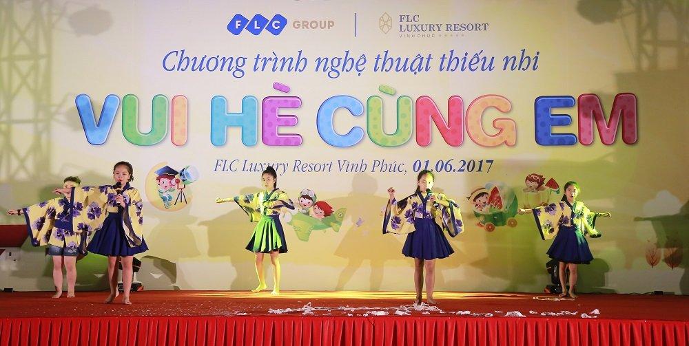 Tung bung chuong trinh 'Vui he cung em' cua FLC danh cho thieu nhi Vinh Thinh hinh anh 5