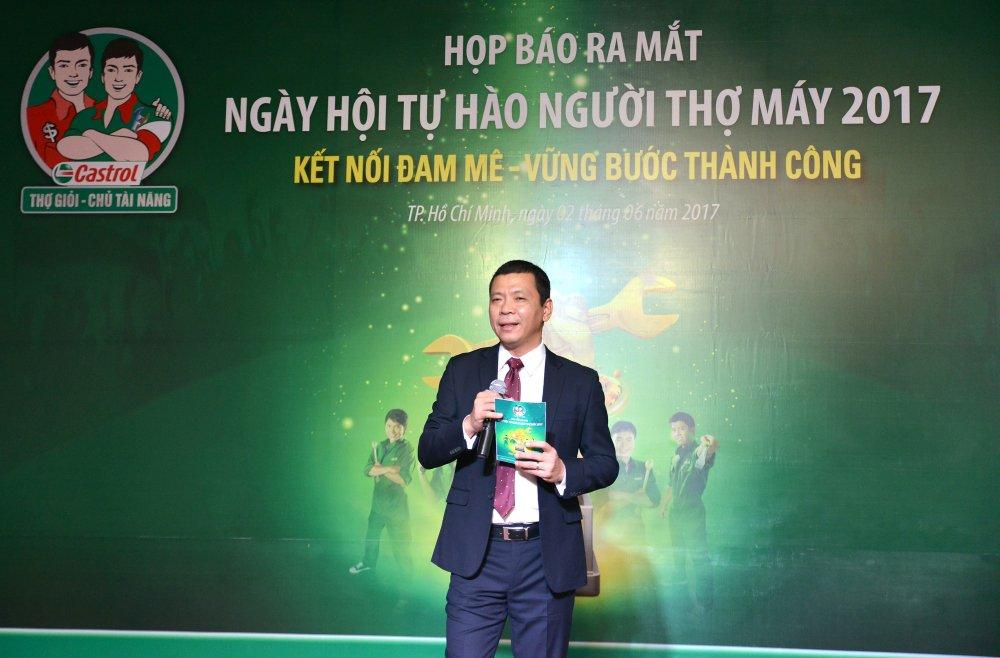 Castrol chinh thuc khoi dong Ngay Hoi Tu Hao Nguoi Tho May 2017 hinh anh 1
