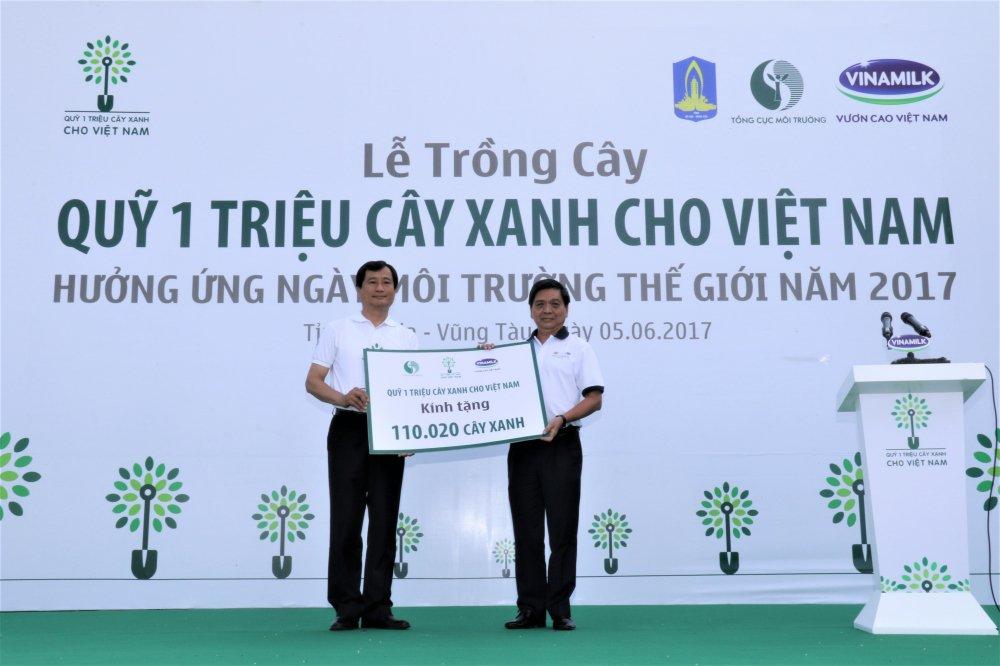 Quy 1 trieu cay xanh cho Viet Nam va Vinamilk trong hon 110.000 cay xanh tai Ba Ria Vung Tau hinh anh 4