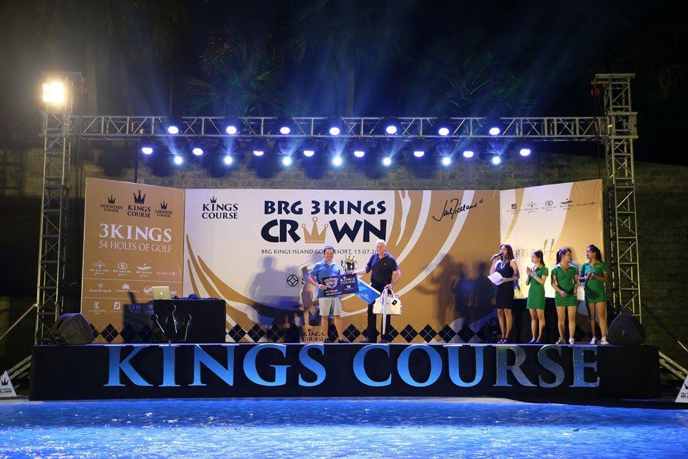 BRG Golf to chuc giai dau dac biet BRG Three Kings Crown tai san gon BRG Kings Island Golf Resort hinh anh 3