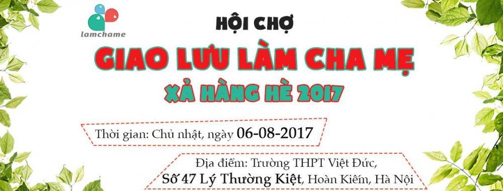 Hoi cho Giao luu lam cha me 'Xa hang he' 2017 hinh anh 1