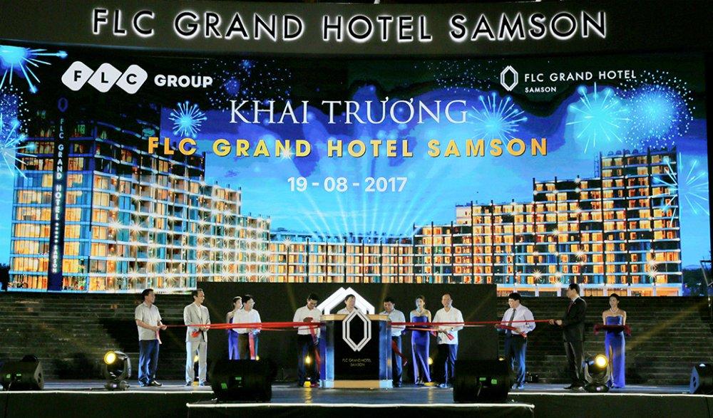 Tap doan FLC chinh thuc khai truong FLC Grand Hotel Samson hinh anh 4