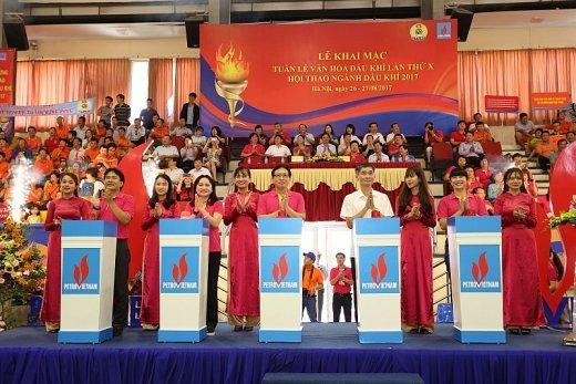Khai mac Tuan le Van hoa Dau khi lan thu X va Hoi thao nganh Dau khi nam 2017 hinh anh 4