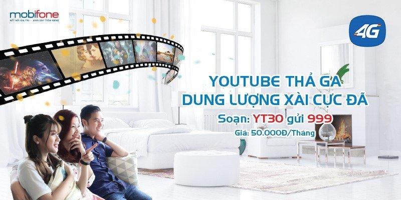 Xem Youtube tet ga chi voi 50.000 dong/thang cung MobiFone hinh anh 2