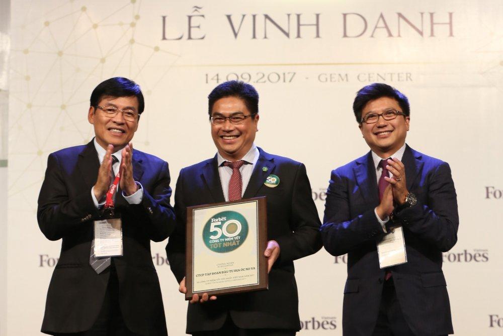 Forbes binh chon Novaland vao top '50 cong ty niem yet tot nhat' 2017 hinh anh 2