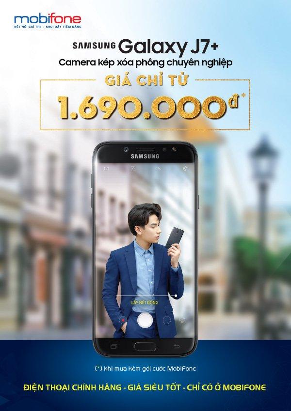 So huu Galaxy J7 Plus thoi thuong, gia chi tu 1.690.000 dong hinh anh 1