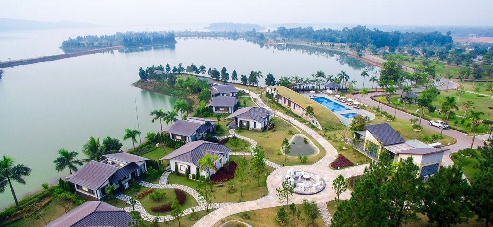 Paradise Dai Lai Resort - Thien duong nghi duong trong ho hinh anh 2