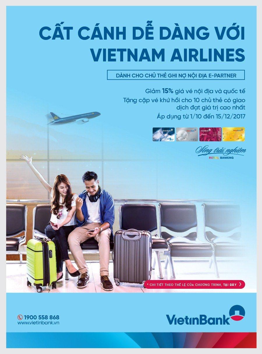 Cat canh de dang cung the E-Partner VietinBank hinh anh 1