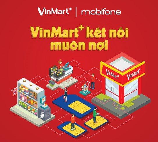 VinMart+ phan phoi sim va goi cuoc di dong MobiFone hinh anh 2