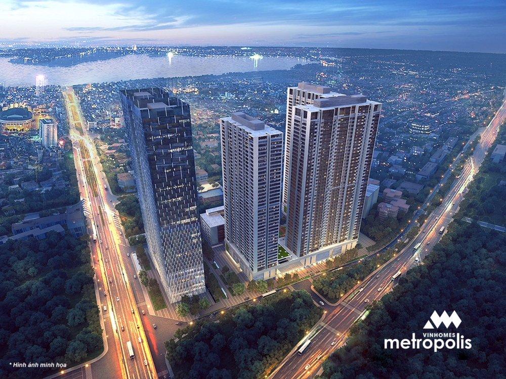 Vinhomes Metropolis - 'Toa nha cao tang tot nhat Chau A Thai Binh Duong 2017' hinh anh 1