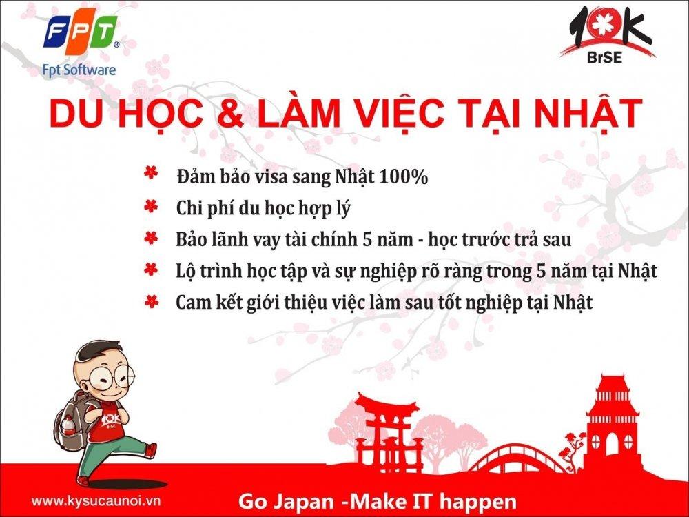 Tong quan ve chuong trinh du hoc va lam viec tai Nhat 10K BrSE – FPT Software hinh anh 1