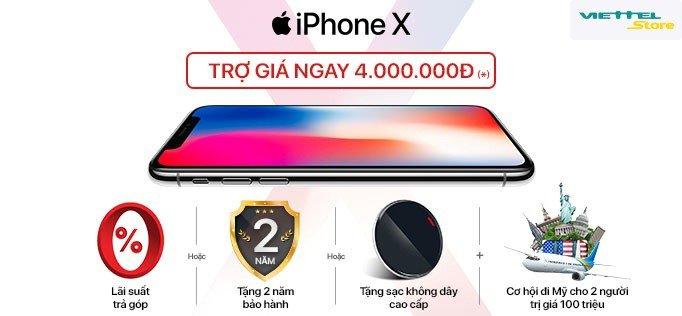 Tro gia 4 trieu dong, iPhone X chinh hang tai Viettel Store vua mo ban da thu ve doanh thu ky luc hinh anh 4